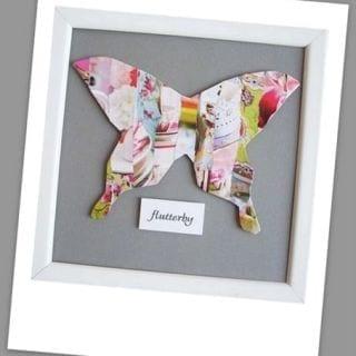 Butterfly Week: Modern Butterfly Collage