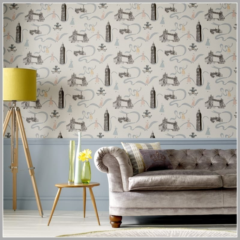 wallpaper wednesday graham and brown jubilee giveaway