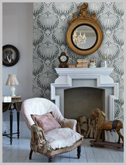 Wallpaper wednesday farrow and ball lotus gorgeousness love chic living - Farrow and ball prix ...
