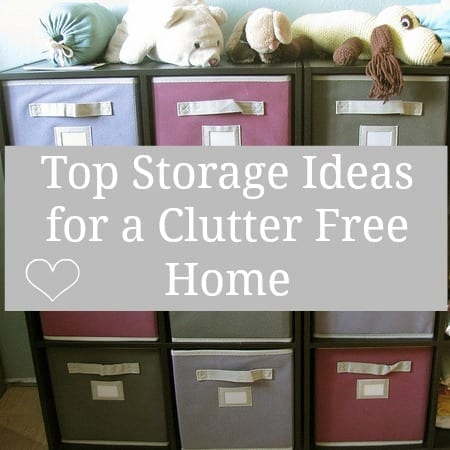 Guest Post: Top Storage Ideas for a Clutter Free Home | Love Chic ...