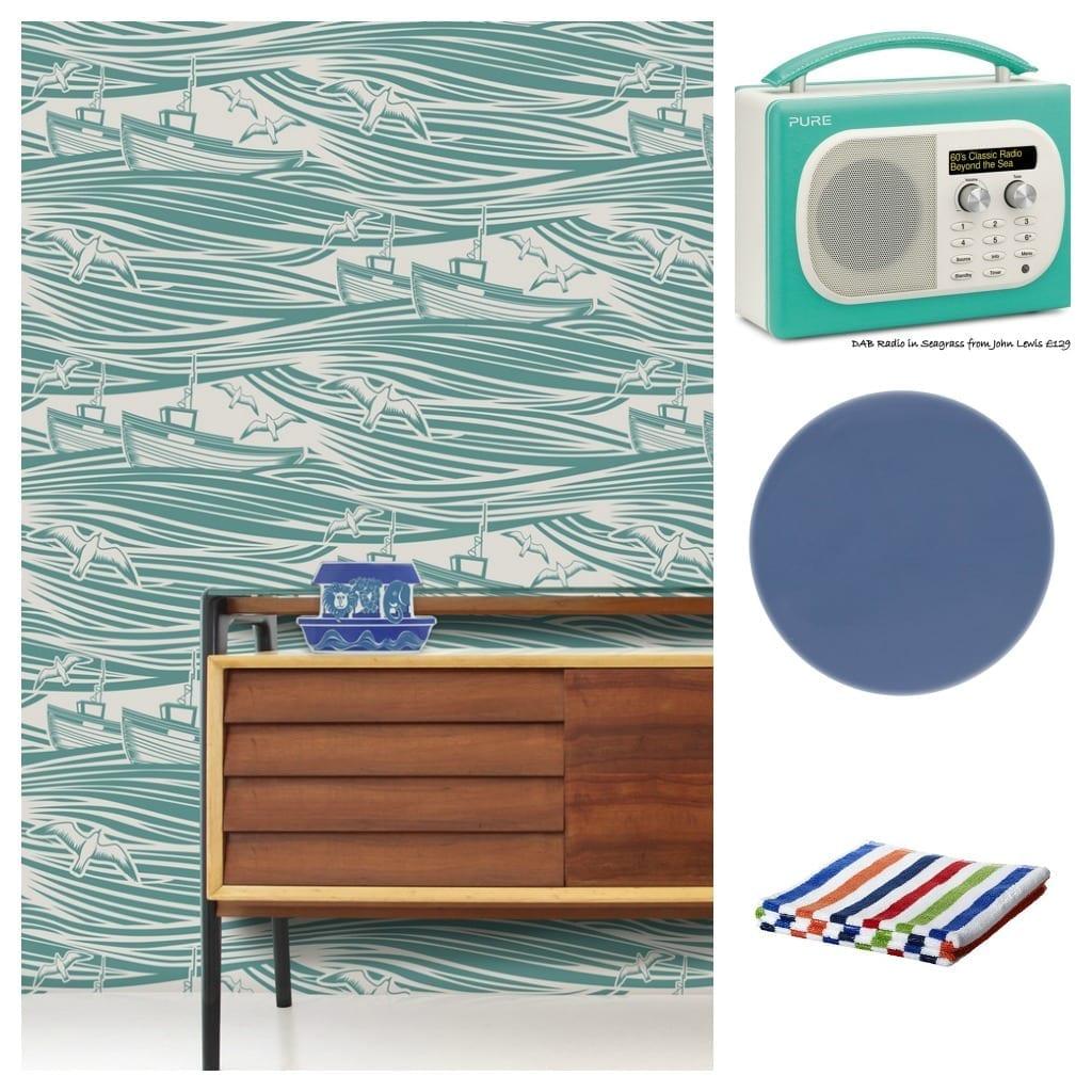 How To Create A Modern Coastal Theme For A Contemporary