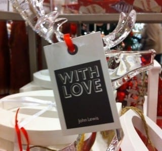 John Lewis Nottingham at Christmas: Warm and Fuzzy