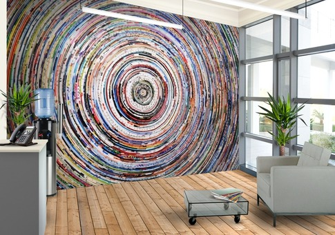 wallpaper wednesday: how to install a jwwalls wall mural - love