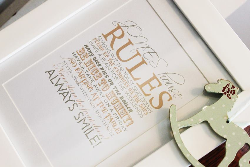 personalised prints gift