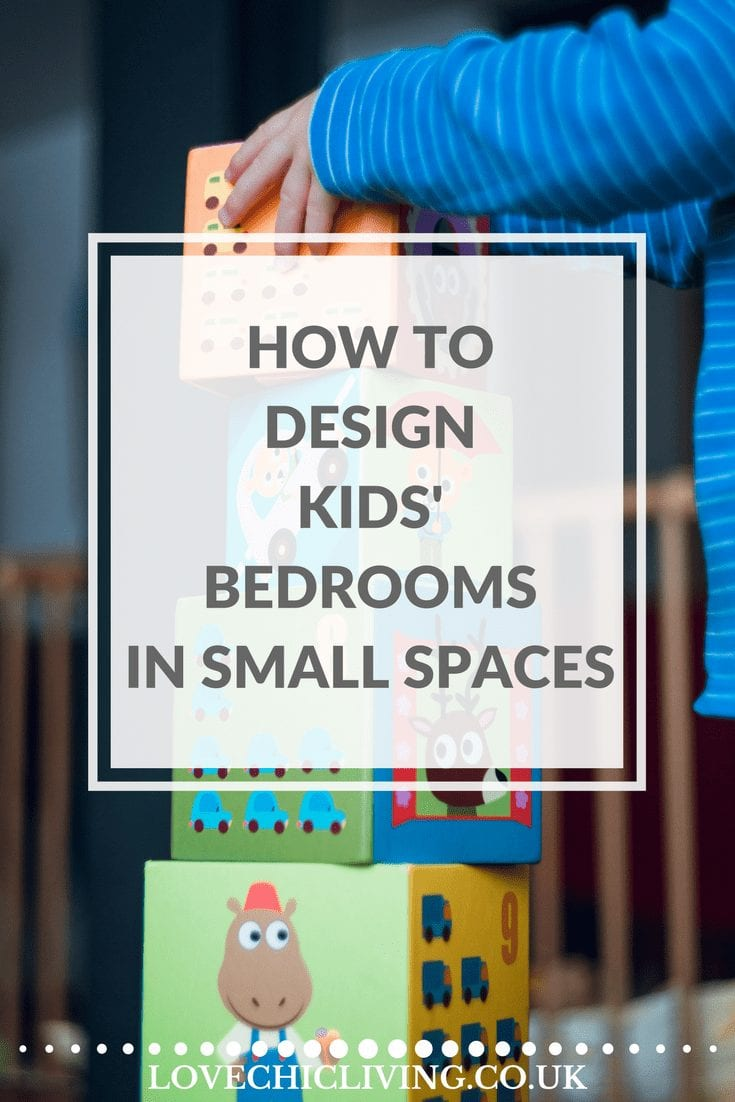 Top tricks, tips and ideas for creating a child's bedroom in a really small space. If your kid's room is tiny and small you're going to need some of this to make that room, fun, clever and practical. And don't forget the storage either!