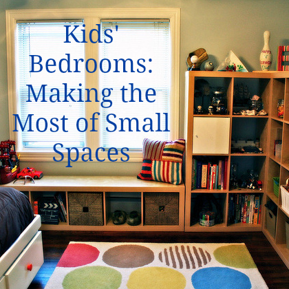 Children 39 s bedrooms in small spaces top tips love chic living - Making most of small spaces property ...