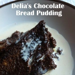 Delia's Chocolate Bread & Butter Pudding, a Bodum Hand Mixer and a Family Gathering