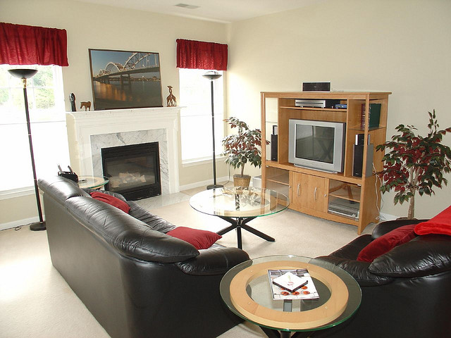 technology in living rooms
