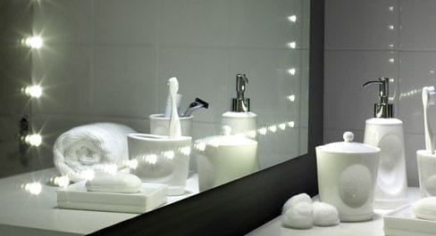 Bathroom Lighting Mirrors And Cabinets From Pebble Grey