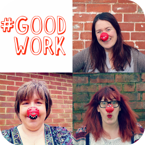 Celebrating 25 Years of Comic Relief #GoodWork with #TeamHonk