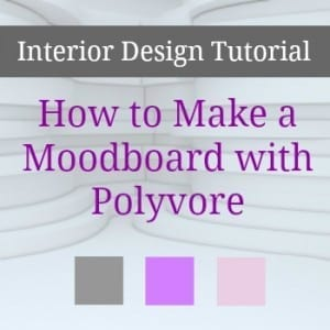 Tutorial: How to Make a Moodboard with Polyvore