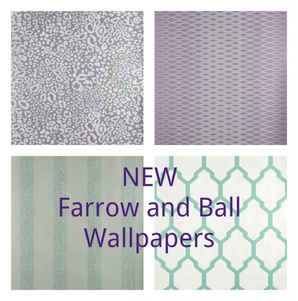 Wallpaper Wednesday NEW Range From Farrow And