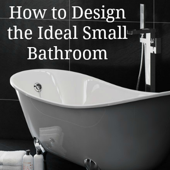 How to design your ideal small bathroom love chic living - Seven tips to save space in a small bathroom ...