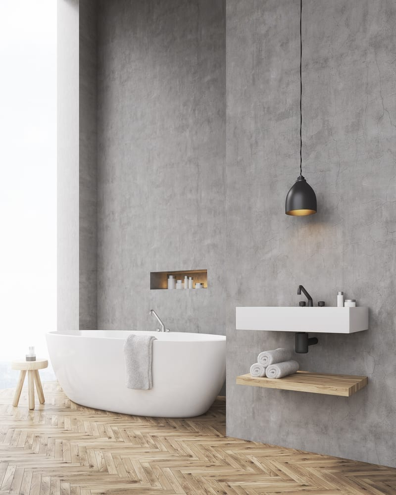 There are several ways you can add a luxurious touch to your bathroom; elegant lighting, a roll top bath or luxury accessories are all ways you can bring a bit of opulence to any bathroom