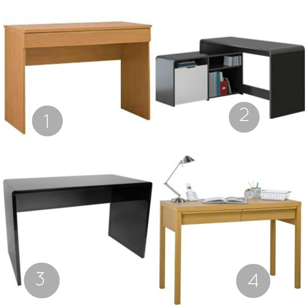 Home office makeover the hunt for a desk love chic living Argos home office furniture uk