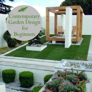 Contemporary garden design for beginners love chic living for Garden design instagram