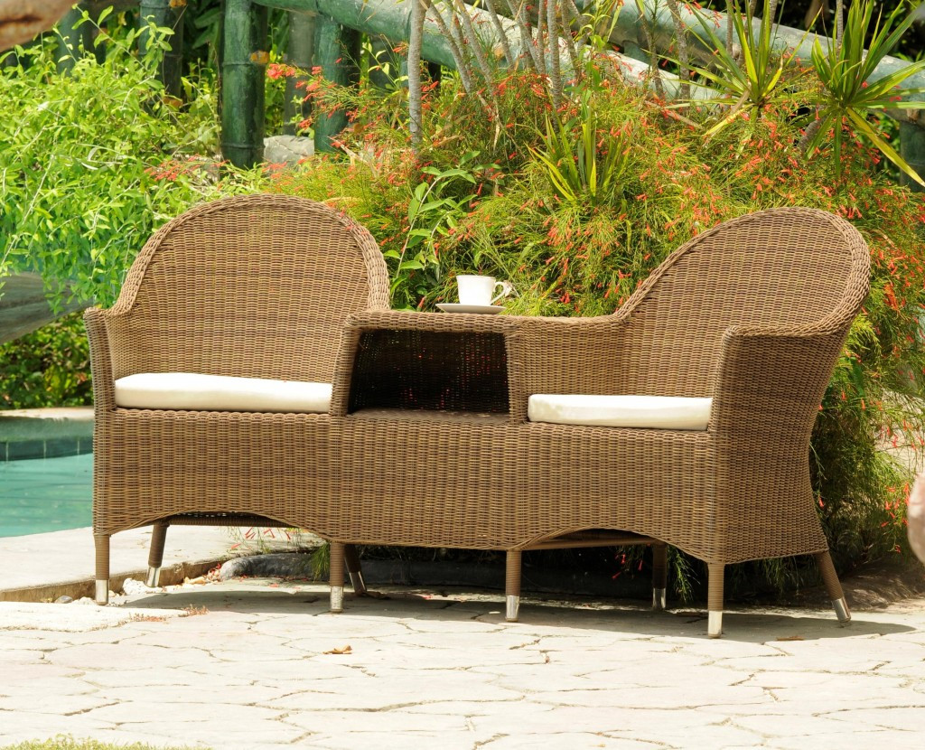 Traditionally rattan furniture used to grace conservatories and ...