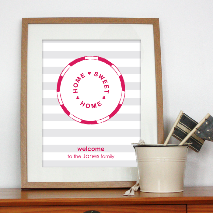 personalised gifts for the home