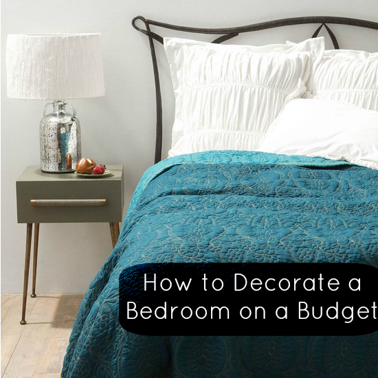 Top tips how to decorate a bedroom on a budget love for Things to decorate bedroom