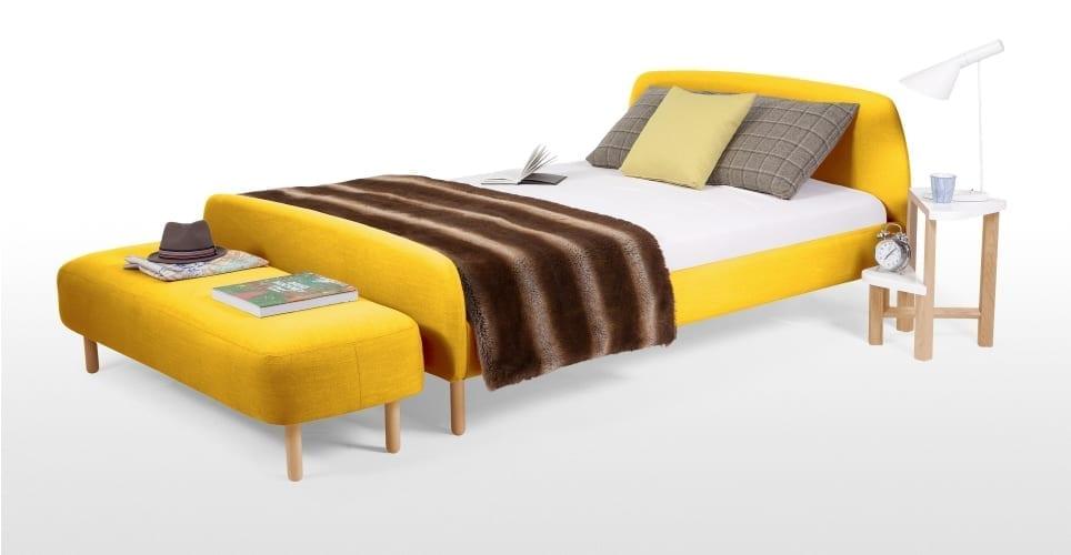 designer beds at made.com