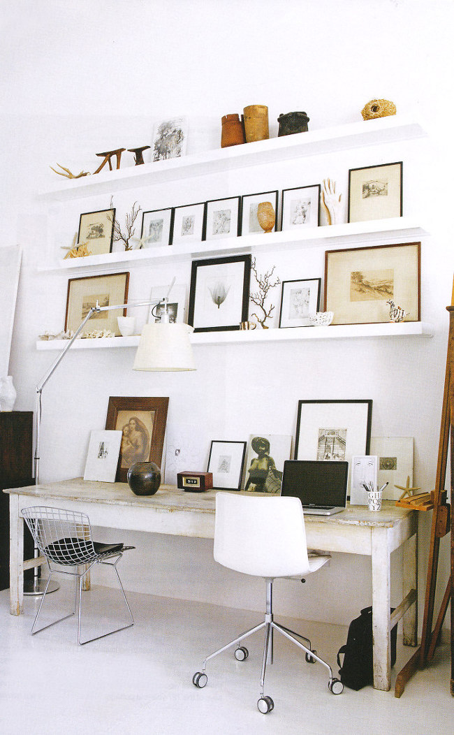 New ideas for creating a home office love chic living for Creating a home office