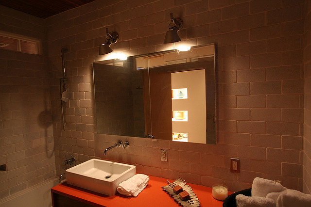 Guide to choosing bathroom lights love chic living for How to choose bathroom lighting
