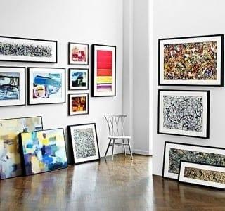 Chic Showcase: Tate Collection Wall Art at John Lewis