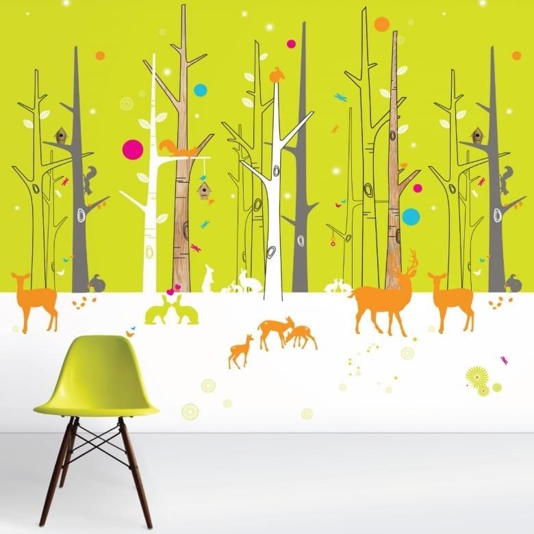cool bespoke wallpaper for kids