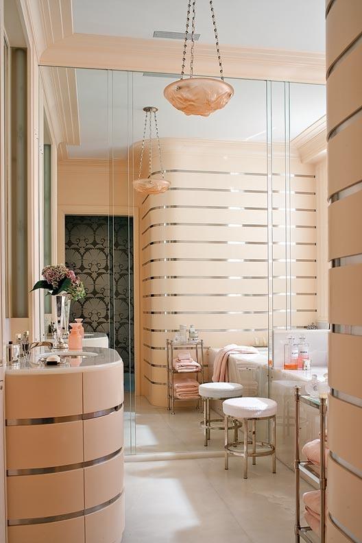 How to Create an Art Deco Contemporary Bathroom - Love ...