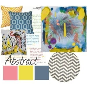 Moodboard: Abstract Art from Saatchi Online
