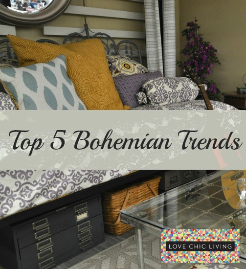 bohemian home interior trends