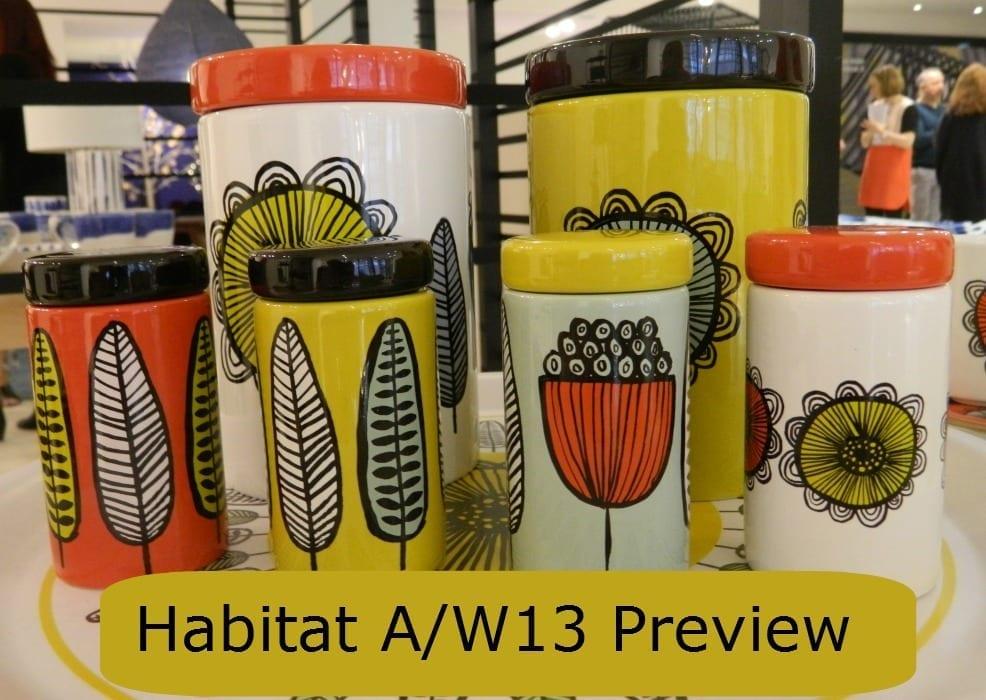 Habitat A/W13 range