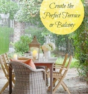 How to Create the Perfect Balcony or Terrace this Summer