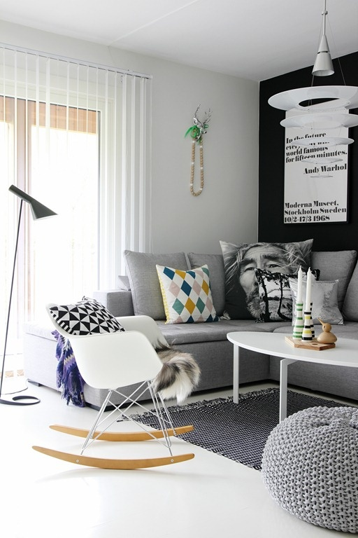 Creating The Illusion Of Space In A Small Living Room Love Chic Living