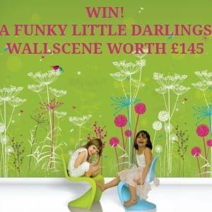 Funky Little Darlings wallscene