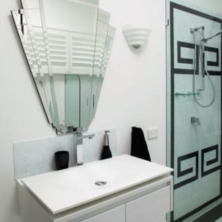 How to Create an Art Deco Contemporary Bathroom
