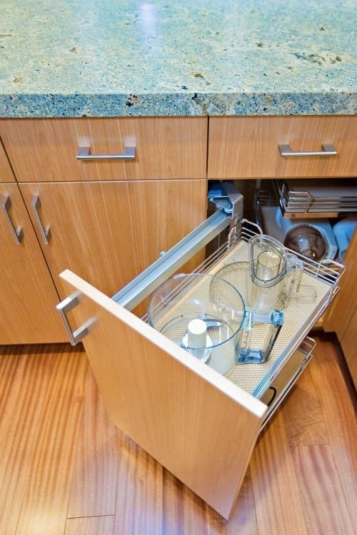 How to find extra storage space in your home love chic for Extra kitchen storage