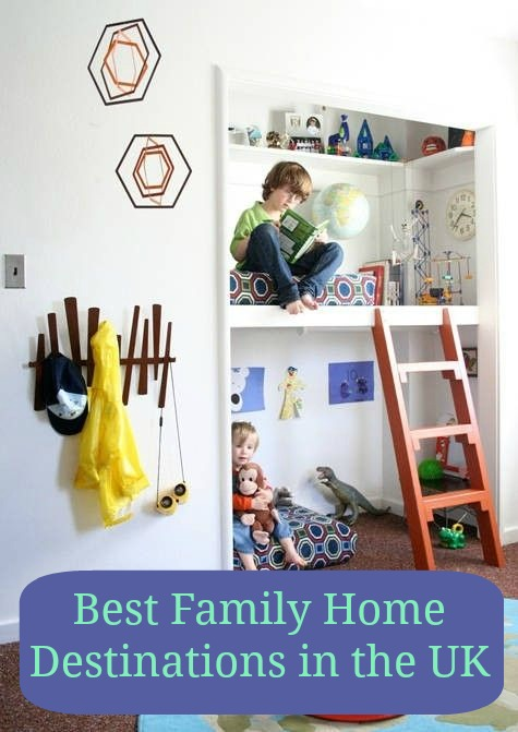 Top Family home destinations in the UK