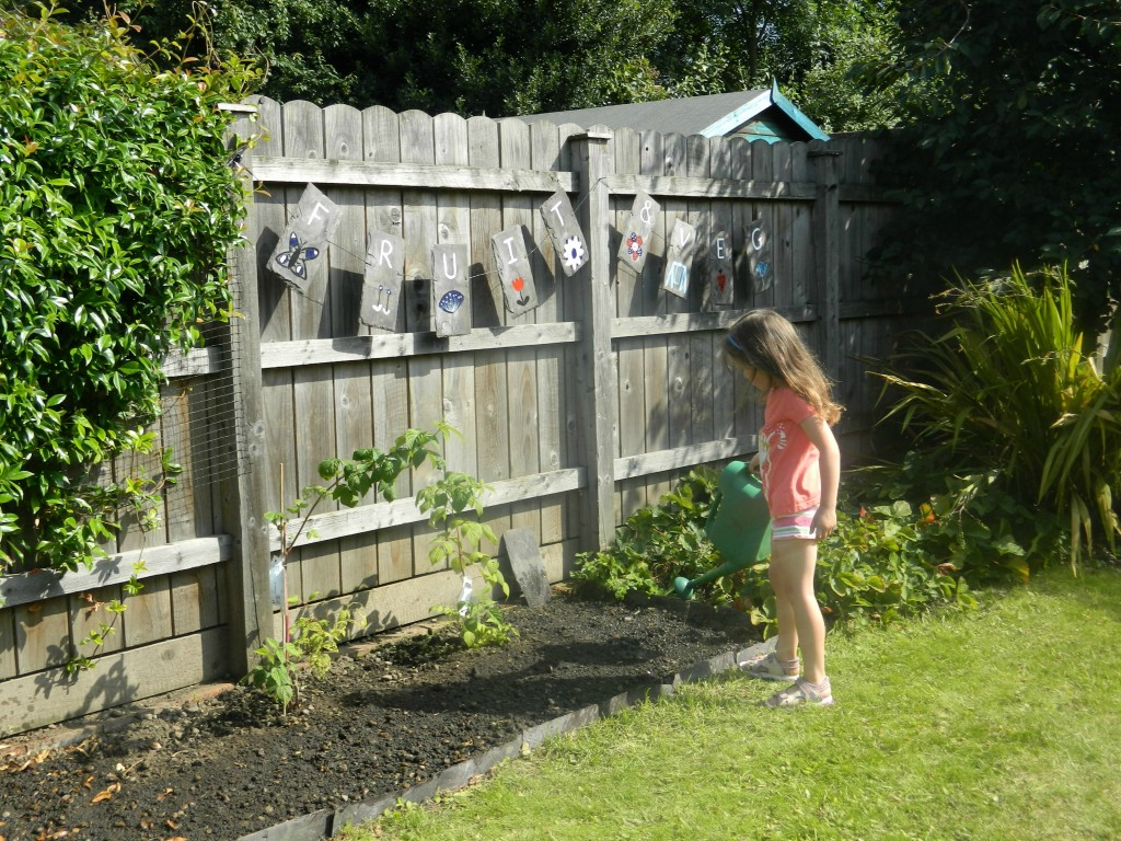 Homebase garden makeover