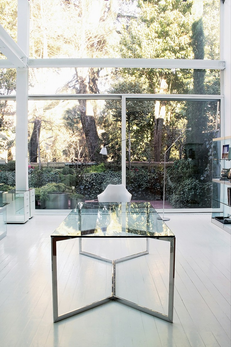 glass interiors