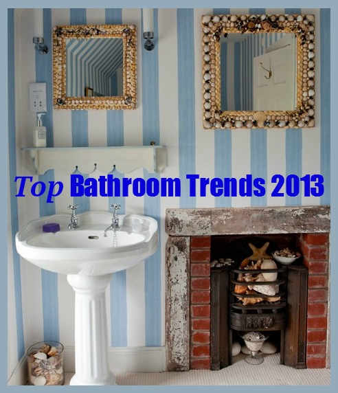 bathroom trends 2013