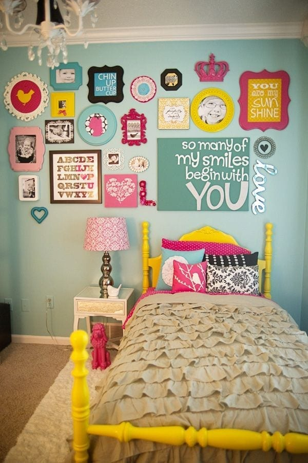 7 Inspiring Kid Room Color Options For Your Little Ones: 10 Best Wall Collage Ideas