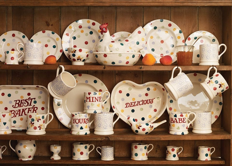 An Inspiring Day Out with Emma Bridgewater Pottery Love  : polkabanner from lovechicliving.co.uk size 960 x 687 jpeg 177kB