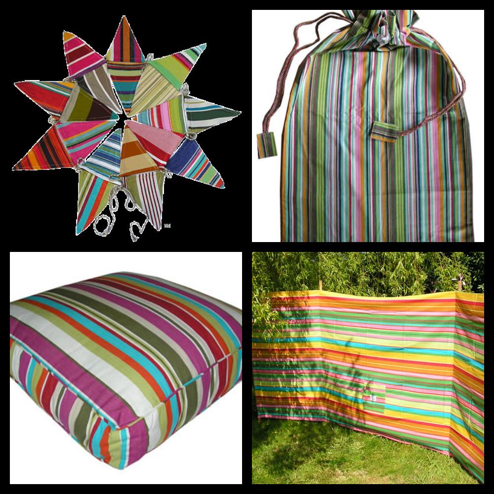 More deckchair stripes