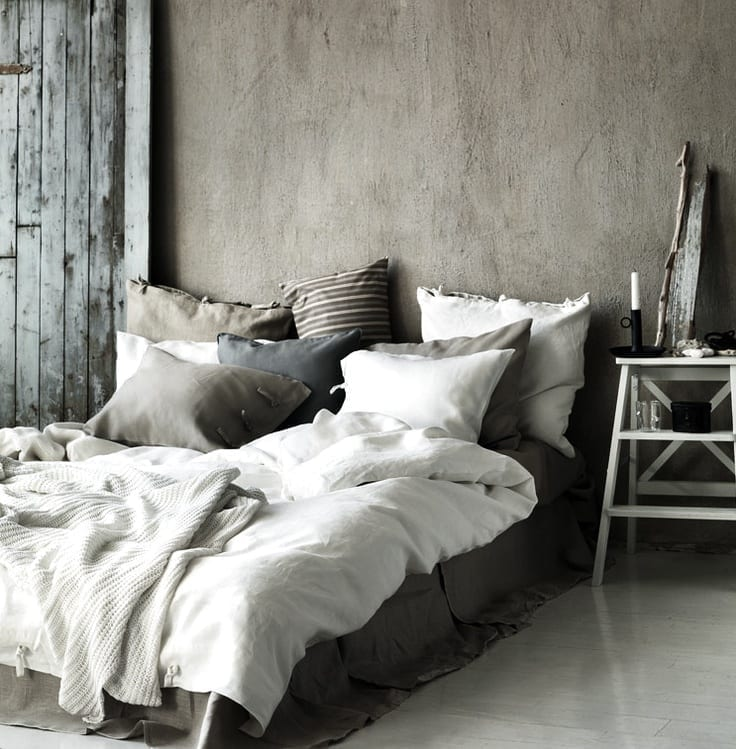 Top tips for a winter bedroom makeover love chic living for Winter bedroom