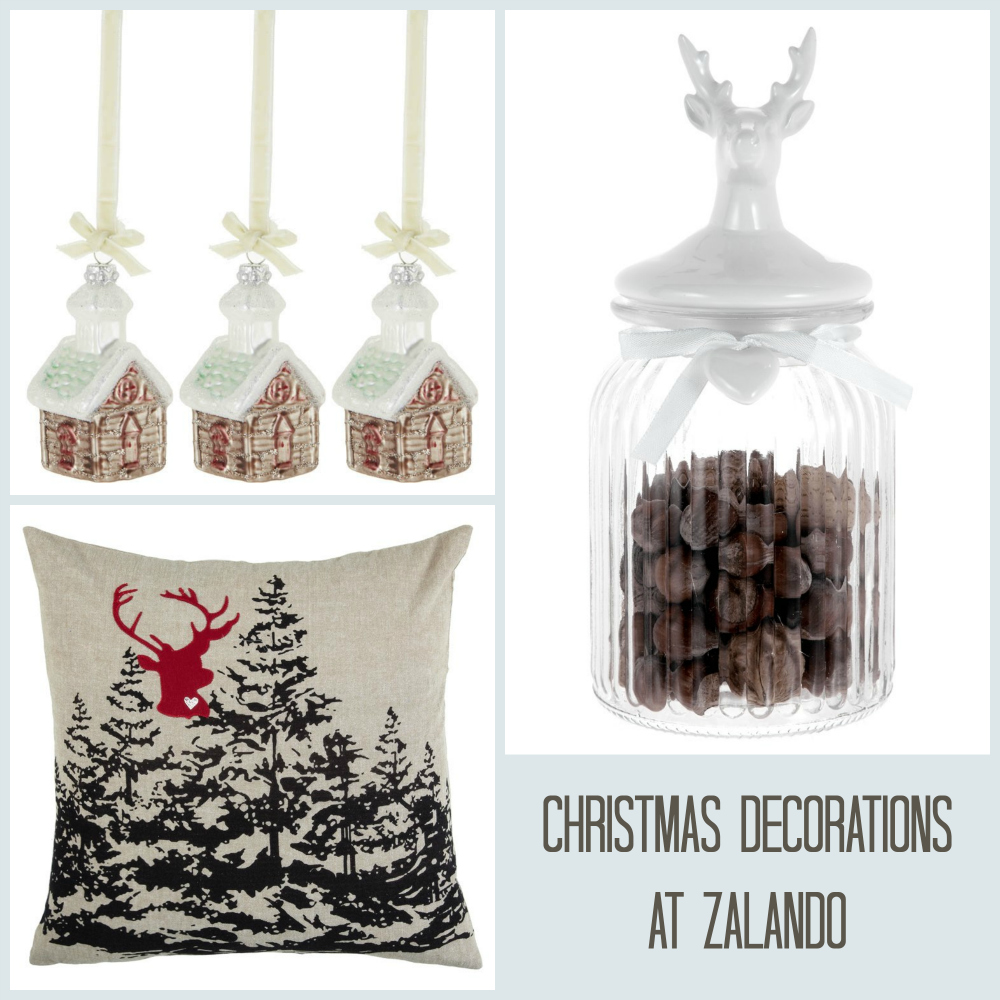 Christmas decs at Zalando