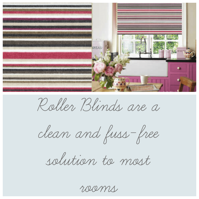 Roller blinds are a great window treatment for most rooms