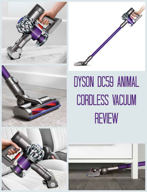 Dyson DC59 Cordless Vacuum cleaner review
