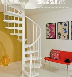 Chic Showcase: Spiral Staircases for Maximum Impact