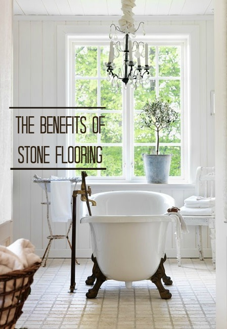 The benefits of using stone flooring in your home